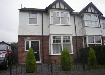 Thumbnail 3 bed semi-detached house to rent in Kings Avenue, Ashford