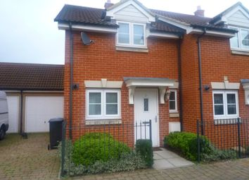 Thumbnail 2 bedroom end terrace house to rent in Provan Court, Ipswich