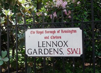 Thumbnail 4 bed flat to rent in Lennox Gardens, Knightsbridge, London