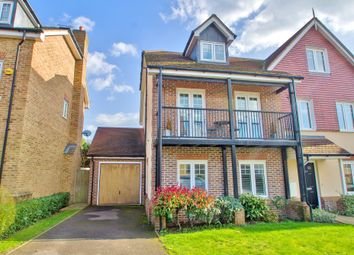 Thumbnail 3 bed semi-detached house for sale in Halcyon Close, Oxshott, Leatherhead