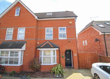 Thumbnail 4 bed end terrace house for sale in Dashwood Close, Camberley, Surrey