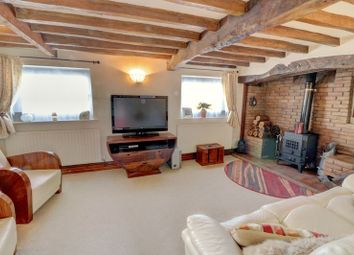Thumbnail 3 bed cottage for sale in Melton Road, Rearsby, Leicestershire.