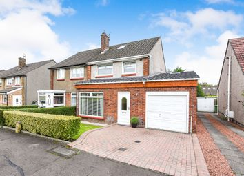 Thumbnail 3 bed semi-detached house for sale in Carnoustie Crescent, Bishopbriggs, Glasgow