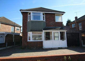 Thumbnail 3 bedroom detached house for sale in Oakleigh Avenue, Burnage, Manchester