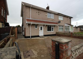 Thumbnail 2 bed semi-detached house for sale in Firthmoor Crescent, Darlington
