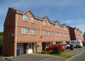 Thumbnail 3 bed town house for sale in Vernon Drive, Market Drayton