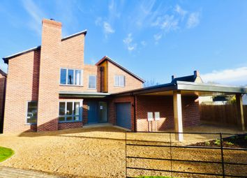 Thumbnail 4 bed detached house for sale in Riverside, Deeping Gate, Peterborough
