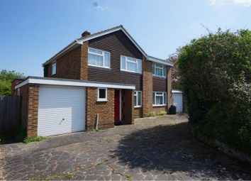 Thumbnail 4 bed detached house for sale in Wren Close, Yateley