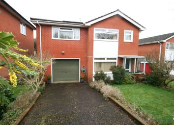 Thumbnail 4 bed detached house for sale in Silverdale Close, Brushford, Dulverton, Somerset