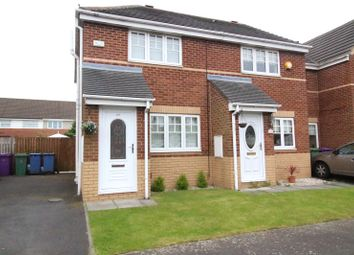 Thumbnail 2 bed semi-detached house for sale in Scorpio Close, Liverpool, Merseyside