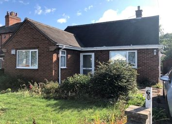 Thumbnail 2 bed bungalow to rent in Station Road, Castle Donington, Derby