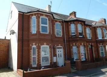 Thumbnail 3 bed terraced house to rent in Belvedere Road, Exmouth