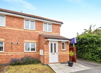 Thumbnail 2 bed end terrace house for sale in Rose Close, Chellaston, Derby