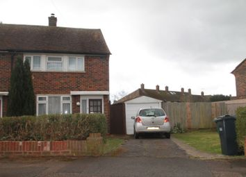 Thumbnail 2 bedroom end terrace house to rent in Worsted Green, Merstham, Redhill