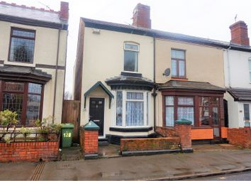 Thumbnail 2 bed end terrace house for sale in Parker Street, Walsall