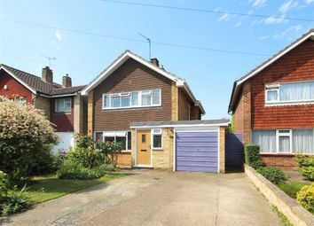 Thumbnail 3 bed detached house for sale in Kingsmead Avenue, Sunbury-On-Thames
