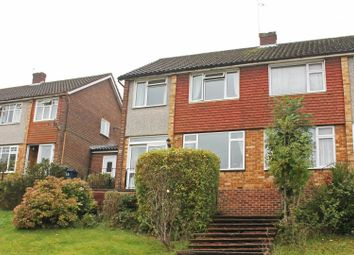 Thumbnail 3 bed semi-detached house for sale in Baronsmead Road, High Wycombe
