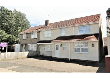 Thumbnail 4 bed semi-detached house for sale in Station Lane, Hartlepool