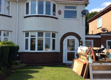 Thumbnail 3 bed semi-detached house to rent in Richmond Road, Olton, Solihull