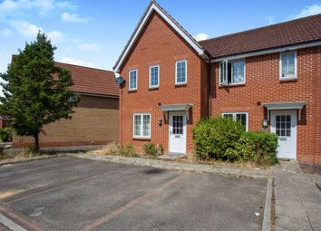 Thumbnail 3 bed end terrace house for sale in Kingfisher Road, Attleborough