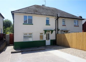 Thumbnail 3 bed semi-detached house to rent in Maelog Place, Cardiff