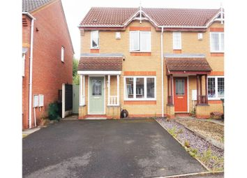 Thumbnail 2 bed end terrace house for sale in Standbridge Way, Tipton