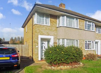 Thumbnail 3 bed semi-detached house for sale in Sedley Close, Aylesford, Kent