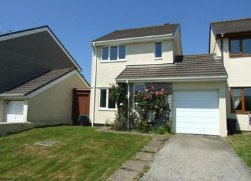 Thumbnail 3 bed link-detached house for sale in St Columb Minor, Newquay, Cornwall
