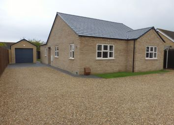Thumbnail 3 bedroom detached bungalow for sale in The Avenue, March