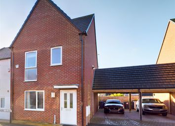 Thumbnail 3 bed semi-detached house for sale in Vickers Close, Newcastle-Under-Lyme, Staffordshire