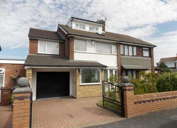 Thumbnail 5 bed semi-detached house for sale in Croxteth Close, Maghull, Liverpool