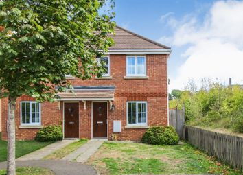 Thumbnail 2 bed semi-detached house for sale in Battalion Way, Thatcham