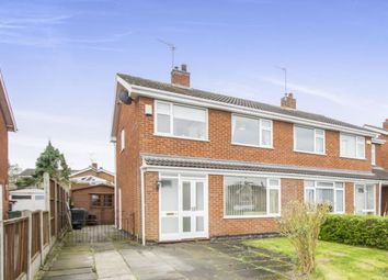 Thumbnail 3 bed semi-detached house for sale in Buckingham Drive, Loughborough, Leicestershire, Loughborough