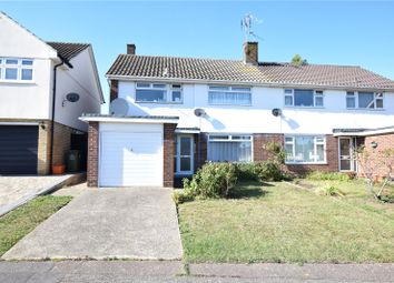 Thumbnail 3 bed semi-detached house for sale in Linnets, Kingswood, Essex
