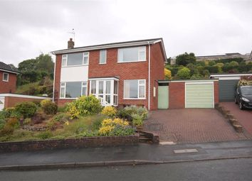 Thumbnail 4 bed detached house for sale in Ladydale Close, Leek