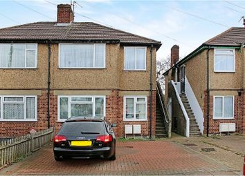 Thumbnail 2 bed maisonette for sale in Braund Avenue, Greenford