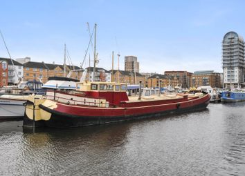 Thumbnail 2 bedroom houseboat for sale in Rope Street, London
