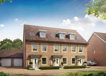 "Thumbnail 3 bed semi-detached house for sale in ""Norbury"" at Cricket Field Grove, Crowthorne"