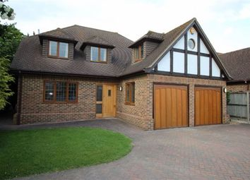 Thumbnail 5 bed detached house to rent in Church Road, Hartley, Longfield