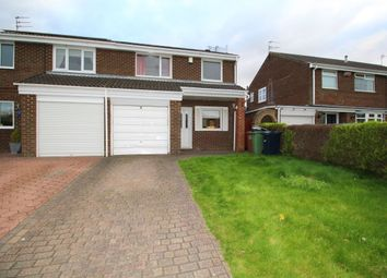 Thumbnail 3 bed semi-detached house for sale in Bishops Way, Chapel Garth, Sunderland