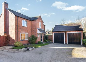 Thumbnail 4 bed detached house for sale in Shotwood Close, Rolleston-On-Dove, Burton-On-Trent