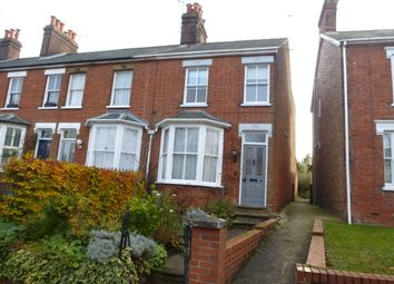Thumbnail 2 bedroom end terrace house for sale in York Road, Bury St. Edmunds