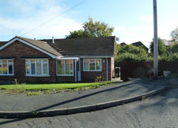 Thumbnail 3 bed semi-detached bungalow to rent in Llwyn Crescent, Morda, Oswestry