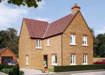 "Thumbnail 4 bed detached house for sale in ""The Hartlebury"" at Boughton Road, Moulton, Northampton"
