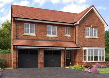 "Thumbnail 5 bed detached house for sale in ""Buttermere"" at Aberford Road, Wakefield"