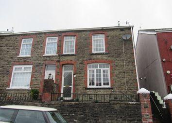 Thumbnail 3 bed semi-detached house for sale in Garnwen Terrace, Maesteg, Bridgend.