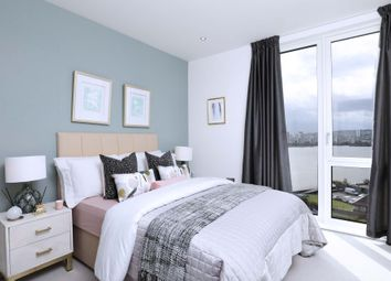 Thumbnail 3 bed flat for sale in Royal Albert Wharf, The Royal Docks, London