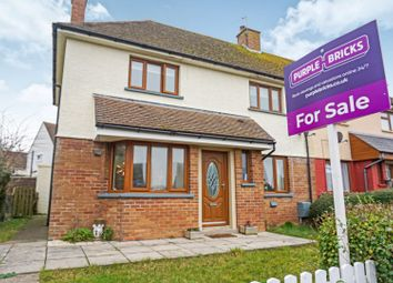 Thumbnail 3 bed semi-detached house for sale in Porthkerry Road, Rhoose