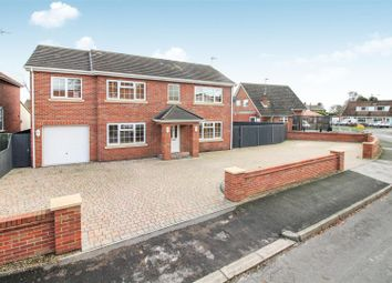 Thumbnail 4 bed detached house for sale in Elmfield Drive, Brandesburton, Driffield