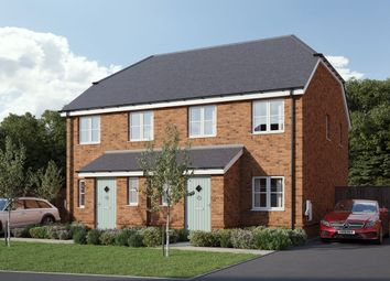 Thumbnail 2 bedroom semi-detached house for sale in Bailey Close, Pewsey